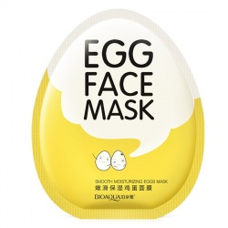 Маска для лица яичная для лица Bioaqua