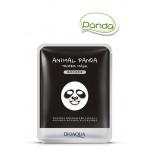 Маска для лица Animal Panda Bioaqua