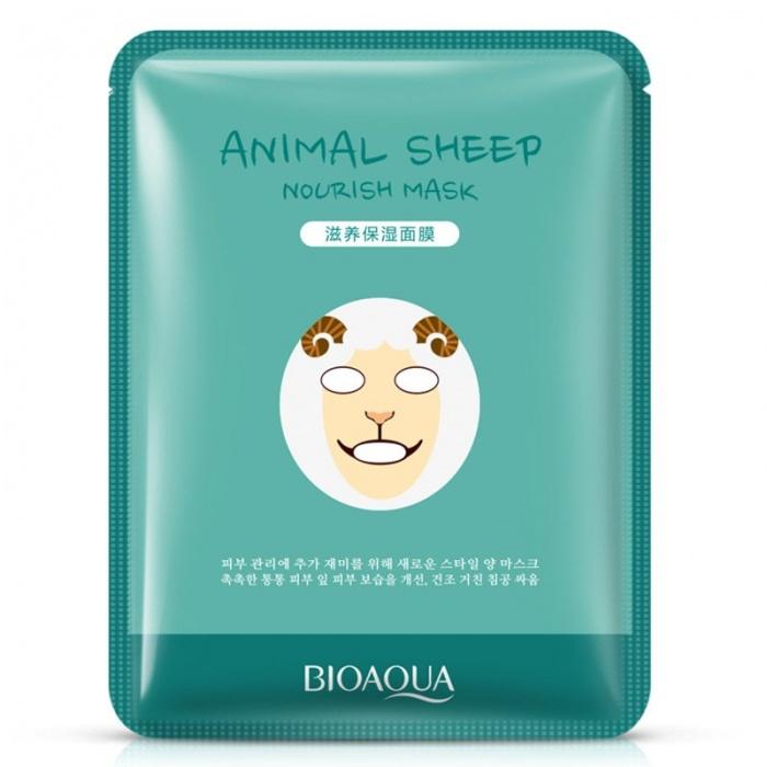 Маска для лица Animal Sheep Bioaqua