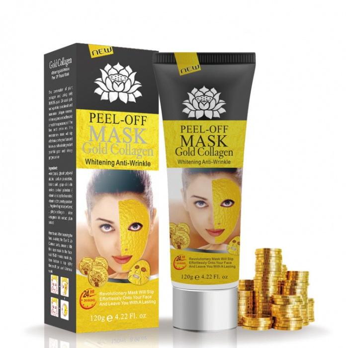 Маска-пленка золотая Peel-off Mask