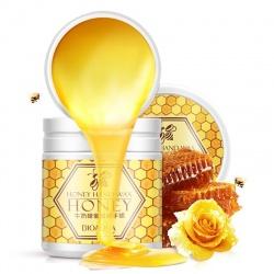 Маска для рук с мёдом и молоком Bioaqua
