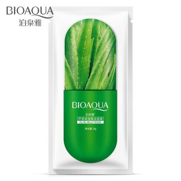 Маска для лица гель с экстрактом алоэ Bioaqua