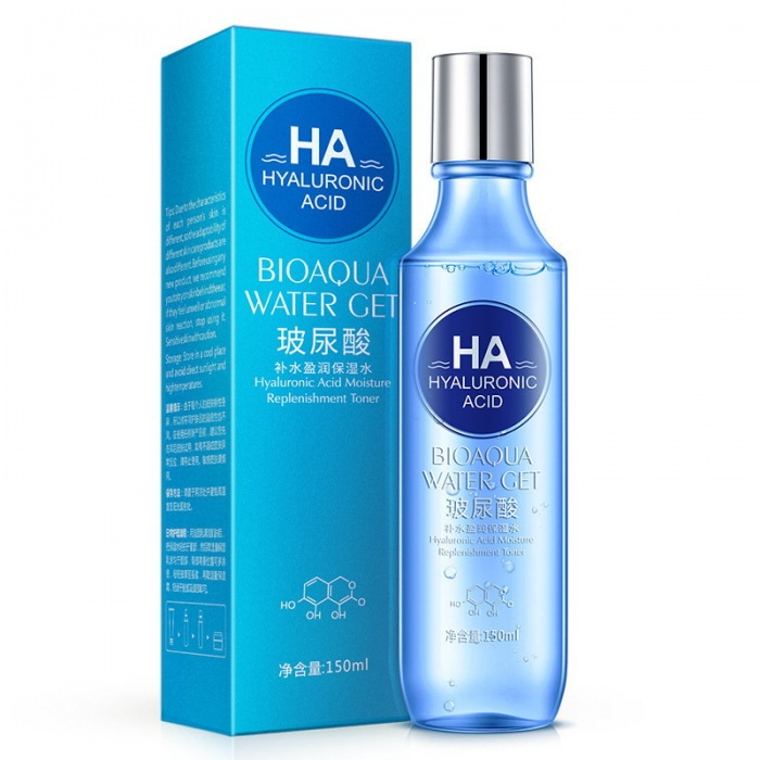 Тонер гиалуроновая кислота Bioaqua