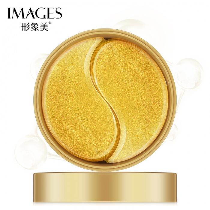 Маска под глаза золотая Images
