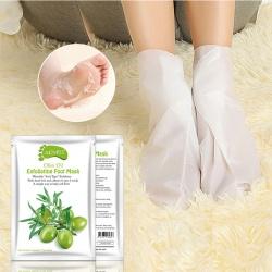 Носочки для пилинга c экстрактом оливок Aliver
