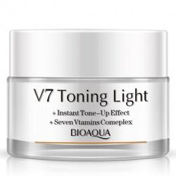 Крем для лица осветляющий V7 Bioaqua