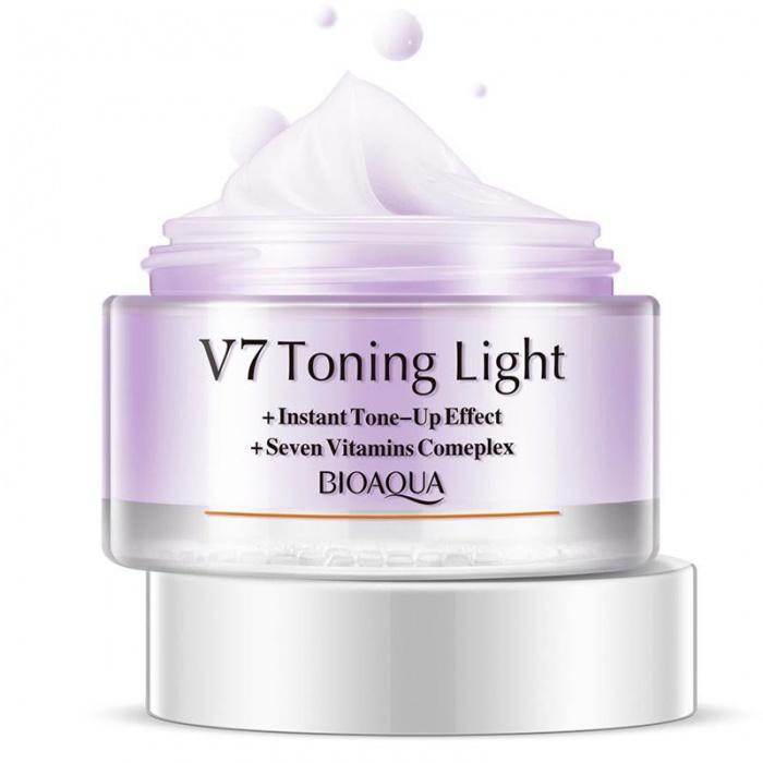 Bioaqua крем для лица V7 успокаивающий