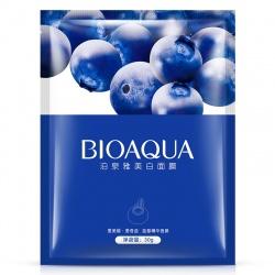 Маска для лица с черникой Bioaqua