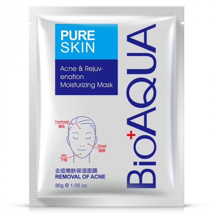 Маска для лица анти-акне Bioaqua