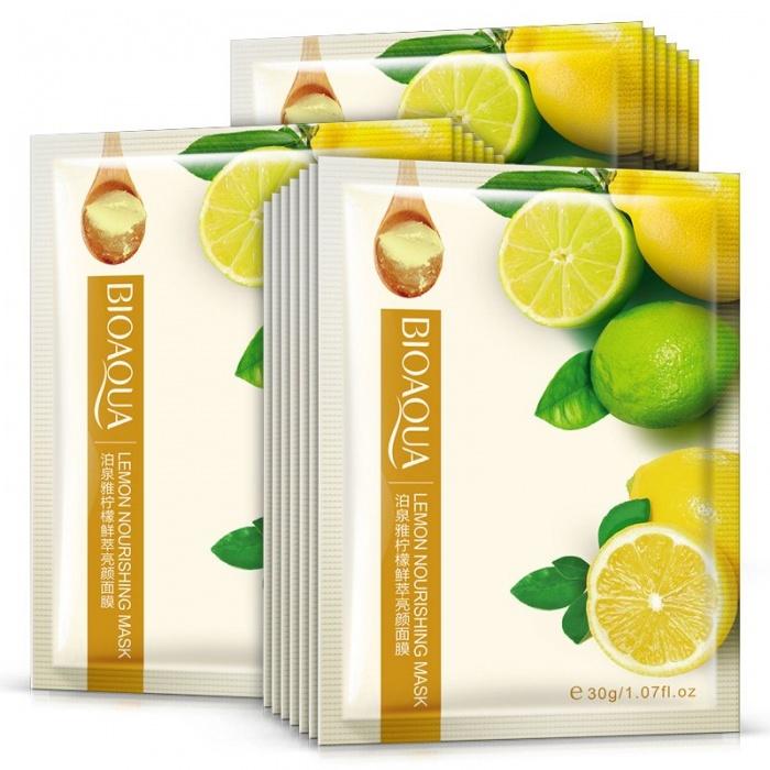 Маска с лимоном Bioaqua