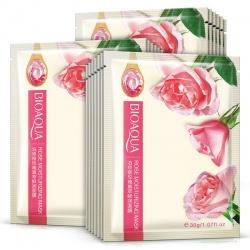 Маска для лица с розой Bioaqua