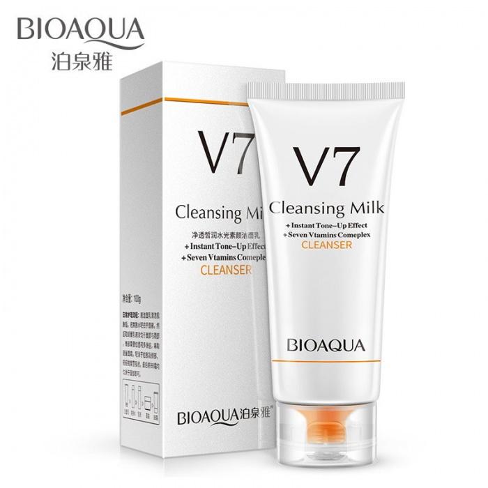 Пенка для умывания семь витаминов V7 Bioaqua