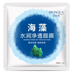 Маска для лица с водорослями Bioaqua