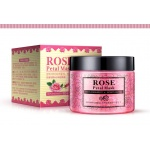 Маска-гель для лица с лепестками розы Rorec