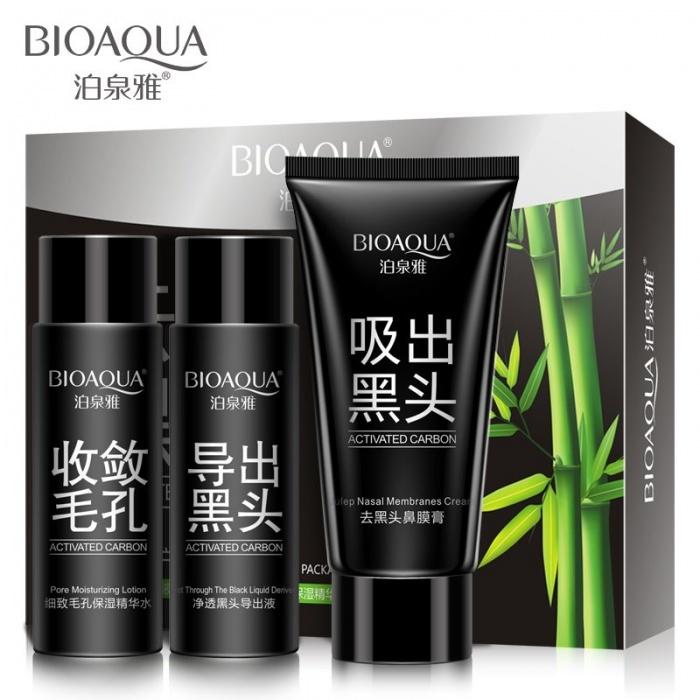 Набор для удаления черных точек Bioaqua