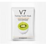 Маска для лица киви с витаминами V7 Bioaqua