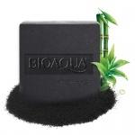 Черное мыло с бамбуковым углем Bioaqua