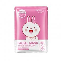 Маска для лица с сакурой Bioaqua (заяц)