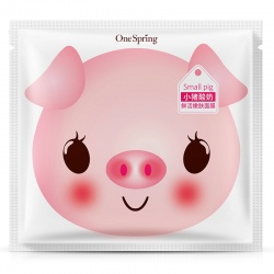 Маска для лица с йогуртом One Spring Small Pig