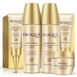 Набор по уходу за кожей с экстрактом улитки Bioaqua