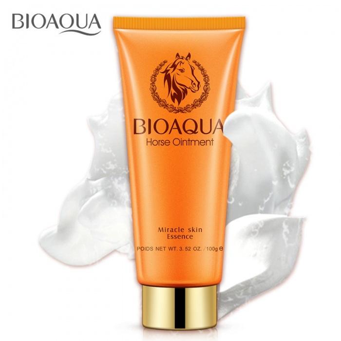 Пенка для умывания с лошадиным жиром Bioaqua