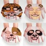 Hankey маска Animal Tiger Face с экстрактом водорослей мозуку и лаванды