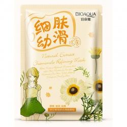 Маска для лица очищающая с экстрактом ромашки Bioaqua