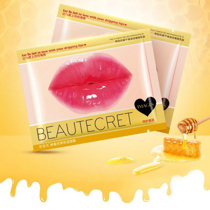 Маска для губ гидрогелевая с экстрактом меда Images: купить в Теомарт