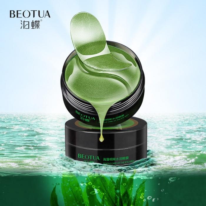 Beotua маска под глаза с экстрактом спирулины и водной мяты 60 шт