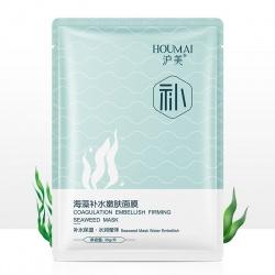 Маска для лица с экстрактами водорослей хидзики и ламинарии Houmai