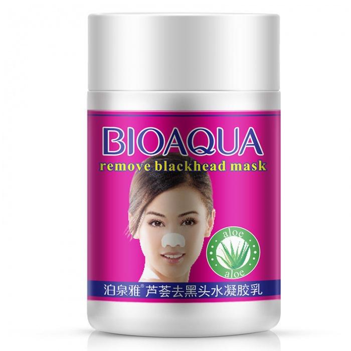 Маска от черных точек с алоэ Bioaqua