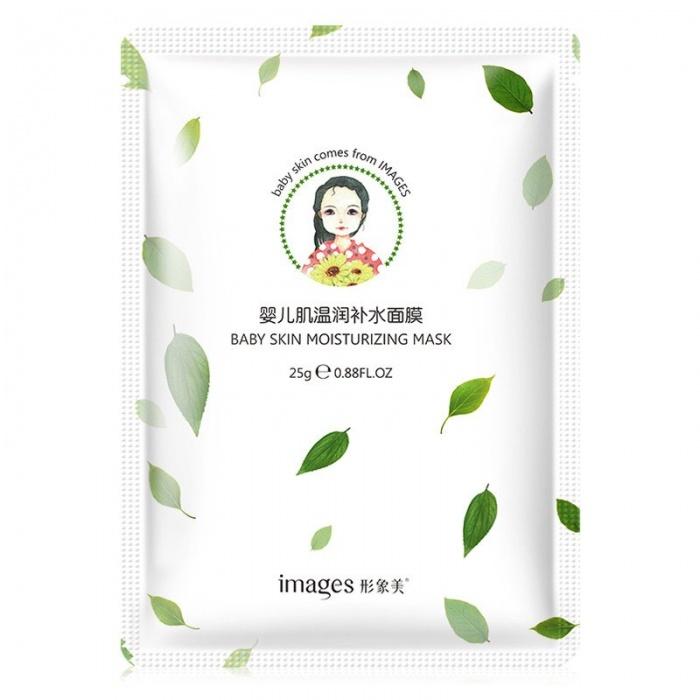 Маска для лица с экстрактом камелии японской Baby Skin Images: купить в Теомарт