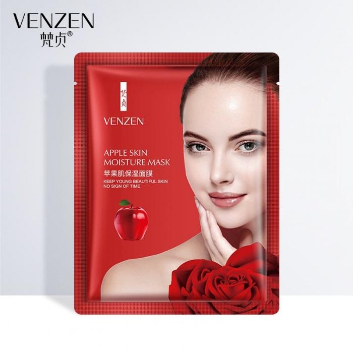 Маска для лица увлажняющая с яблоком Venzen: купить в Теомарт