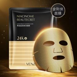 Маска для лица с золотой фольгой 24K Gold Venzen