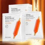 Набор масок для лица 10 шт с экстрактом цитруса юдзу Blood Orange Images