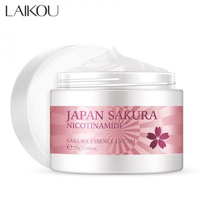 Laikou крем для лица с экстрактом цветков сакуры