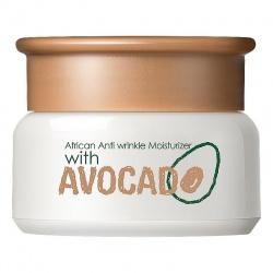 Крем для лица с авокадо и маслом ши Laikou