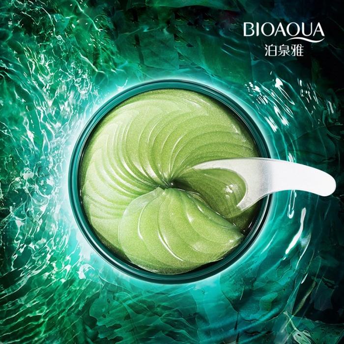Bioaqua гидрогелевые патчи с водорослями 60 шт