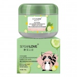 SersanLove пузырьковая маска с экстрактом огурца