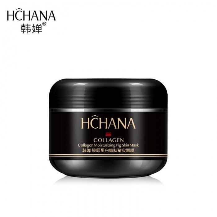 Hchana ночная маска с коллагеном Pig Skin