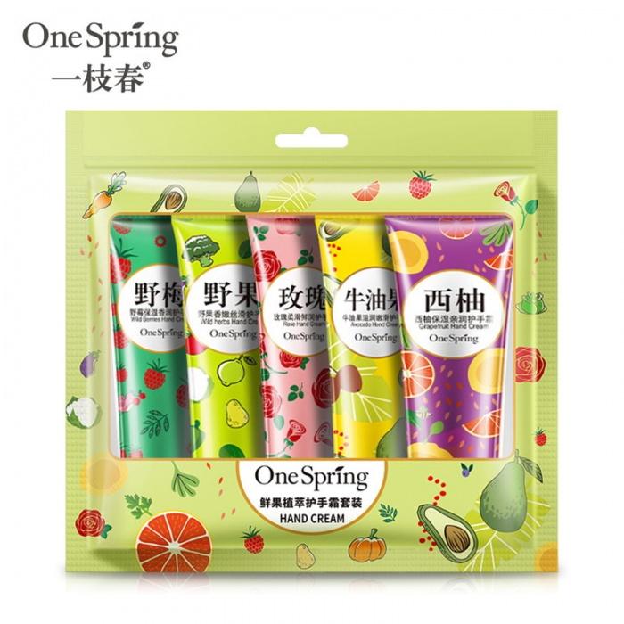 One Spring набор кремов для рук 5 шт