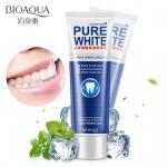 Bioaqua отбеливающая зубная паста с мятой
