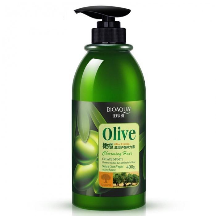 Эластин для укладки с оливками Bioaqua