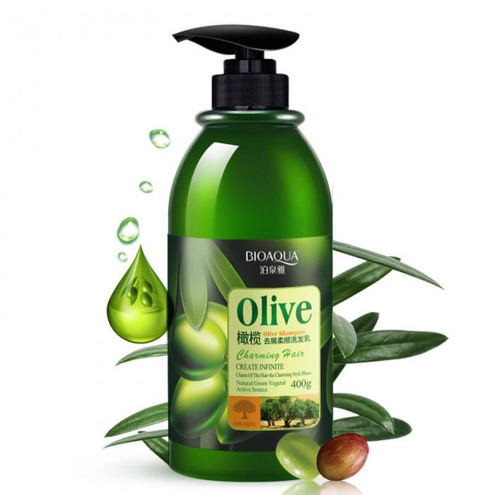 Шампунь с оливками Bioaqua