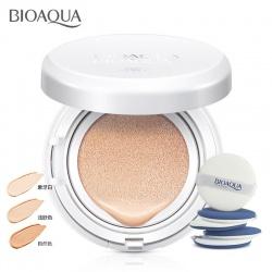 Крем BB кушон сменный комплект Bioaqua (натуральный)