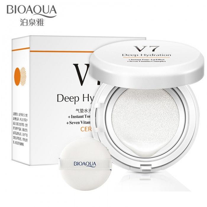 База под макияж кушон V7 Bioaqua
