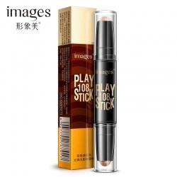 Хайлайтер и корректор Images Play Stick (01 натуральный и темный кофе)