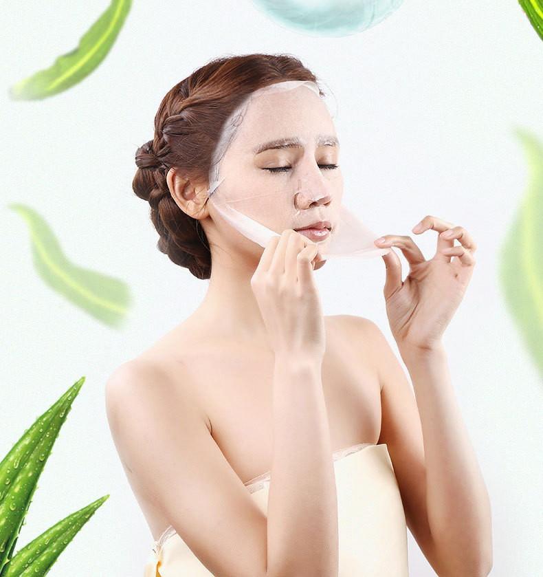 Маска для лица алоэ и водоросли Caicui: teomart.ru - фото 4