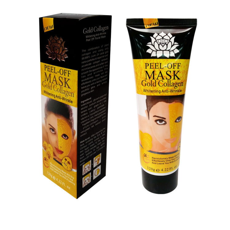 Маска-пленка золотая Peel-off Mask 120 грамм: teomart.ru - фото 2