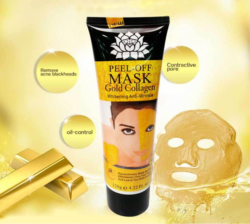 Маска-пленка золотая Peel-off Mask 120 грамм: teomart.ru - фото 3